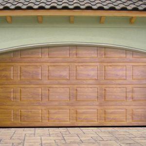 Секционные ворота на проем 3350х2390(h) белые. DoorHan RSD01SC