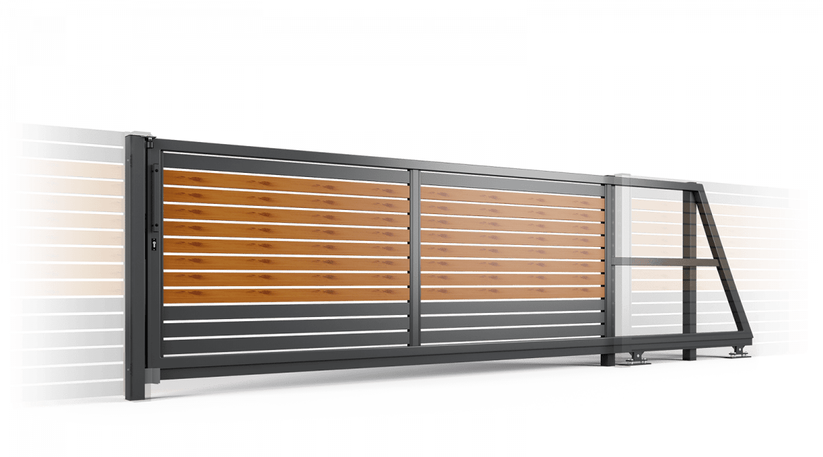 Купить автоматические ворота и двери в Челябинске