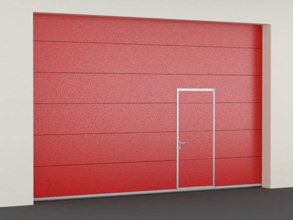 Противопожарные секционные ворота DoorHan с классом огнестойкости EI60