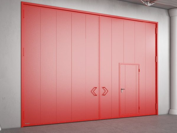 Противопожарные распашные ворота DoorHan с классом огнестойкости EI90, EI120