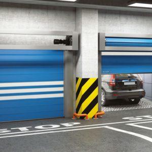 Купить скоростные спиральные ворота DoorHan серии HSSD