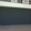Рулонные стальные ворота DoorHan с внутривальным электроприводом из профиля RHS75
