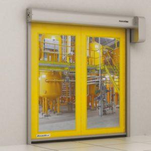 Скоростные рулонные ворота DoorHan для пищевой промышленности серии SPEEDROLL SDF