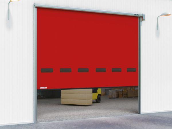 Скоростные рулонные ворота DoorHan для наружного использования серии SPEEDROLL SDO