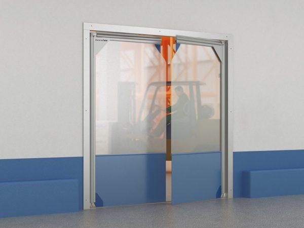 Пленочные маятниковые двери DoorHan серии SSD