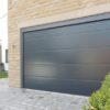 Гаражные секционные ворота Alutech Trend с пружинами растяжения размер 3000х2250мм