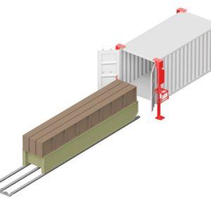 Система погрузки-разгрузки контейнеров DoorHan