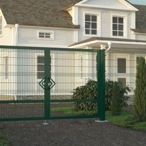 Распашные ворота DoorHan со стальной рамой