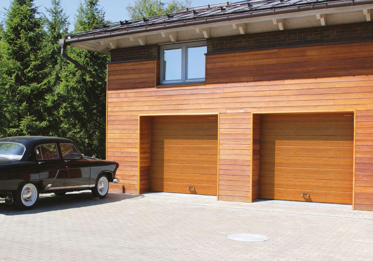 стандартные гаражные ворота от Свой дом